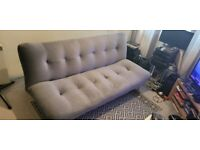 Luxury velour Sofa Bed