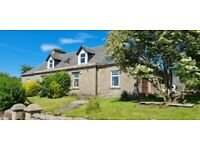 3 Bedroom Farm House Conversion with Parking, Hot-tub G82 G84