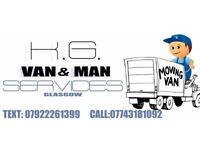 Van and man services -20% for students ( no charge per hour)