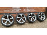 "Genuine Audi Rotor 19"" Alloy Wheels 8K0601025AR 5x112 A4 S4 A5 A6"