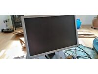 20 inch dell monitor with analog and digital connection