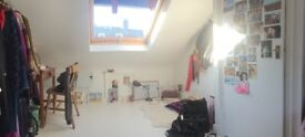 Double attic room in spacious Kemp Town vegetarian house