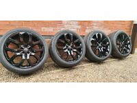 "Genuine Range Rover Style 5004 22"" Alloy Wheels Land Rover Evoque Sport"