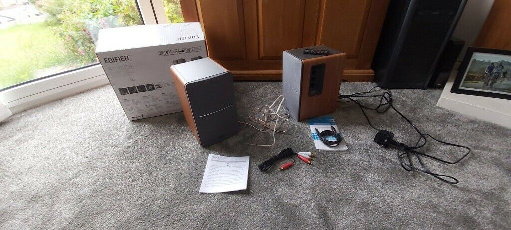 Edifier R1280DB Active Remote Control Bluetooth Speakers - With Original  Box | in Swansea | Gumtree