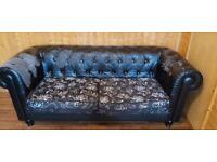 2x Leather Sofas