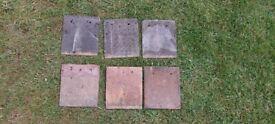 Roof Tiles (40) – 19cms x 16.5cms.