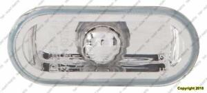 Side Repeater Lamp Driver Side/Passenger Side (Clear)High Quality Volkswagen Golf 1999-2006