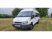 Ford Transit 2.4 TDI Bus LWB 4dr (17 Seats, LWB) 1 OWNER|NO VAT|LONG MOT|17STS **£3995 ONO**