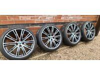 "Genuine BMW 20"" Alloy Wheels Individual 5 Series G30 Style 759"