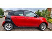 Smart, FORFOUR, Hatchback, 2016, Manual, 999 (cc), 5 doors