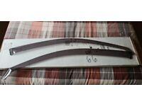 Audi a3 2012 onwards wind deflectors