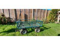 Garden trolley cart