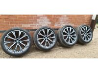Immaculate Genuine BMW X7 758M Individual Alloy Wheels Runflat Tyres G07 X6 X5