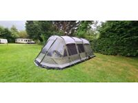 Outwell Montana 6P with ground sheet plus carpet.