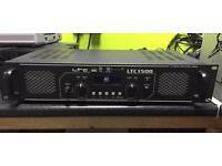 Ltc 1500 pa amplifier 1500w