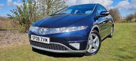 image for Honda Civic 2.2 i-CTDi ES 5dr LOW MILEAGE|FULL SERVICE HISTORY