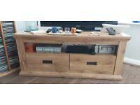 Heavy Wood effect MDF TV unit