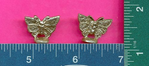 100 wholesale pewter butterfly figurines m11123
