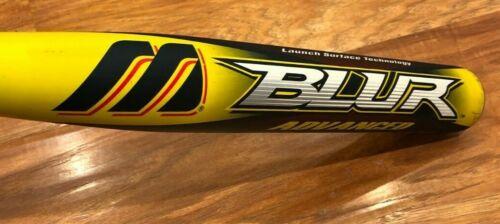 $400 Mizuno Techfire Blur 34 27 Composite Slowpitch Softball Bat Orange Crush OG