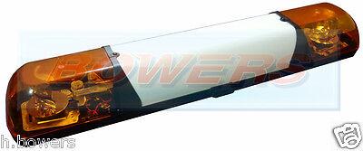 TRUCK-LITE 1M 12V EMERGENCY RECOVERY ROTATING FLASHING AMBER BEACON BAR LIGHTBAR