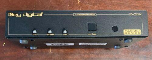 KD-CSW2X1 Key Deigital Video Component Switcher