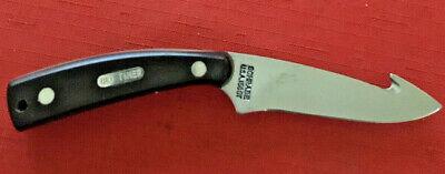 SCHRADE USA OLD TIMER GUTHOOK SKINNER KNIFE 158OT - DROP POINT HUNTER 1973 PRESE
