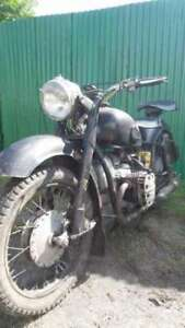1960 Classic Motorcycle K750 Ural M72 Runs Great!!!!