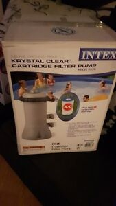 Intex Water Filter system New in Box for 12' Round Pools