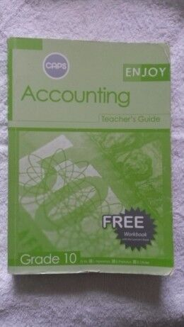 Accounting -Teachers Guide - Grade 10.