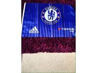 Chelsea flag on stick. New