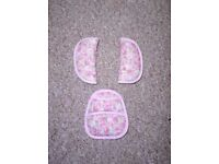 Girls car seat parts-can post