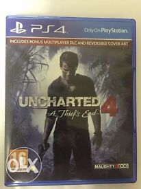 Uncharted 4 PS4 Game, still sealed.