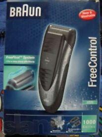 braun freecontrol 1000 series 1775/REMINGTON ESSENTIALS F505 MENS ELECTRIC MAINS