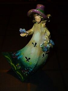 ► The Tin Lady Hand Crafted and Painted by Artist in N.O.T.L.
