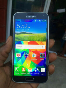 Fully unlocked Samsung Galaxy S5 for sale with Otterbox case