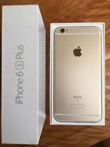 Gold unlocked iPhone 6s Plus 64gb wind compatible