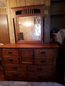 Solid Wood Dresser & Nightstand