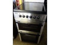 BEKO STAINLESS STEEL 50cm ELECTRIC COOKER ,EXCELLENT CONDITION, 4 MONTHS WARRANTY