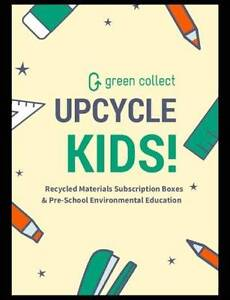 Upcycle kids - Recycled school art and craft creative boxes Braybrook Maribyrnong Area Preview