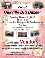 Vendors wanted for craft show marketplaces