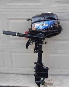 Tohatsu 3.5hp long shaft outboard engine for sale