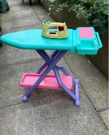 Toy ironing board and iron in very good condition . . .