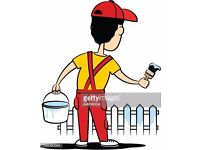 Garden fence painter/Want your fence/shed/decking painted/moss removal/online qoute-clean job