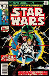 ***Star Wars 1977 Vintage 1st and 2nd Issued Comics***