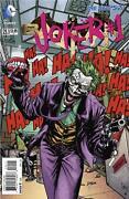 Batman 1 New 52 First Print