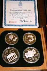 Silver Olympic Proof Set Montreal 1976 Olympiad - Pristine
