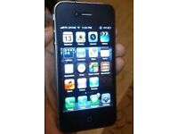 Iphone 4 Black in excellent condition unlocked