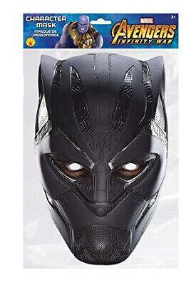 Black Panther Marvel Official Face Mask ()