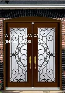 Iron Wrought Front Door Double  Factory Direct