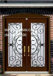Iron Door Front Double Wrought  Factory Direct